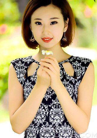 Beautiful China Member Yang From Jilin 26 Yo Hair Color